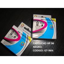 Cartucho De Impresora Hp 96 Negro