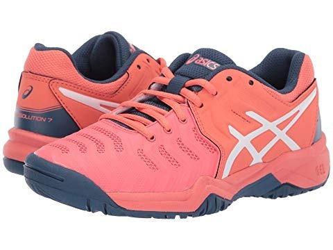 tenis asics rosa