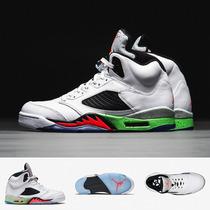 Zapatillas Nike Air Jordan 5 Retro | Blanco Poison Original