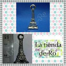 Torre Eiffel 3 D/metal/plateado/ 2,5cm/ 1 Unidad