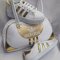 Hermosos Combos De Zapatos Y Carteras Converse Y Adidas