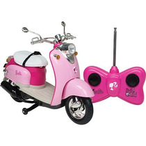 Carrinho De Controle Moto Barbie Disney Frete Grátis