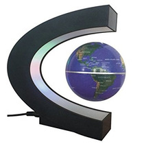Luces Pinron Levitación Magnética Flotante Del Mapa Del Mun