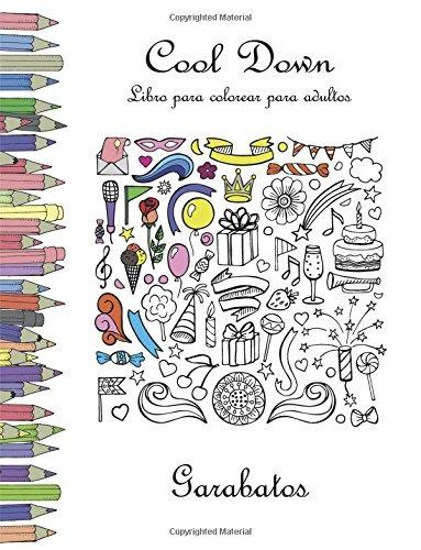 Libro : Cool Down - Libro Para Colorear Para Adultos: Gar... - $ 779 ...