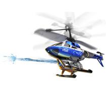 Helicóptero Controle Remoto Atira Água, 2.4ghz E Gyro + Alvo
