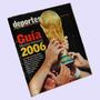 ¬¬ Revista Fútbol Guía Mundial Alemania 2006 El Mercurio