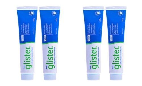 Creme Dental 200g Kit C 4 Glister Branquear Dentes Pasta R 103