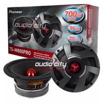 Par De Medios Bajos Pioneer Ts-m800pro 8 Pulgadas 700 Watts