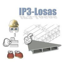 Ip3 Losas V.3 Full Editable. Win 32 Bits Y 64 Bits