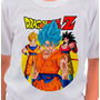 Franelas Dragon Ball Z Dragon Ball Goku Algodon