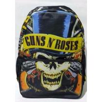 Mochila Rock Caveira Guns N