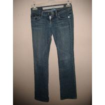 Pantalon Para Dama Talla 25 Color Azul De Mezcilla