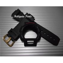 Kit Capa + Pulseira P/ Casio Dw9052 Dw9051 Dw9050 G-shock