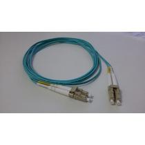 Cordão Óptico Duplex Multimodo-fibra Ótica Lc/lc Pc 2,5m