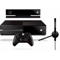 Xbox One 500gb + Sensor Kinect Original C/ Nota + Controle