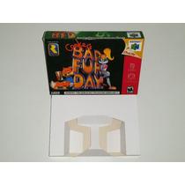Caixa Conker´s Bad Fur Day + Berço Incluso, Nintendo 64!!!!