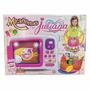 Microondas De Juliana C/ Comiditas Recetario Y Delantal Tv