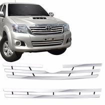 Sobre Grade Inox Toyota Hilux 2012 2013 2014 2015 Maxx