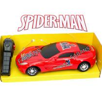 Carro Control Remoto Spiderman Transformer Bumblebe Juguete