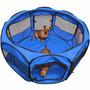 Corral/cerco De Tela Grande Perro Gato Conejo Huron Plegable