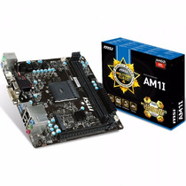 Placa Mae Amd Am1 Am1-i Msi Nova Na Caixa
