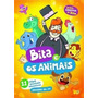 Bita E Os Animais Dvd C/ 11 Clipes Musicais Educativos Novo