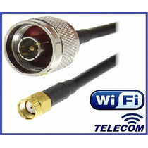 Cable Pigtail Adaptador Wifi N Macho - Rp-sma Macho !!!