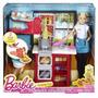 Barbie Chef De Pasta Cocina Juguetes Muñeca Niñas Cocinera