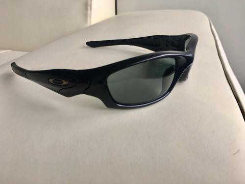 5ba6b2281b Lentes Oakley Straight Jacket Matte Black  Grey Polar - S  350