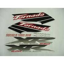 Kit Adesivos Tornado 2003 Branca, Frete Grátis !