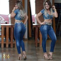 Calça Rhero Jeans Estilo Pit Bull Com Bojo Modela Bumbum