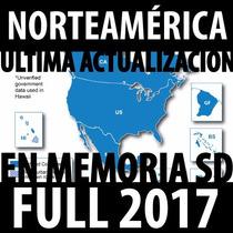 Mapas Garmin Estados Unidos 2017 Mexico + Memoria Sd Rosario