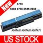 5200mah Batería Para Acer Aspire 4320 4520 2930 As07a32
