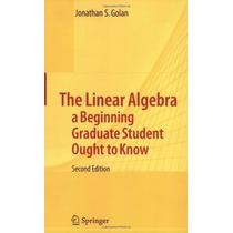 Livro Importado - Algebra Linear