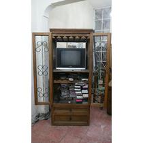 Cantinero O Mueble Para Tv, Con Dos Cajones Muy Amplios