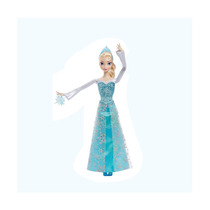 Boneca Elsa Princesas Em Ação Disney Frozen Mattel