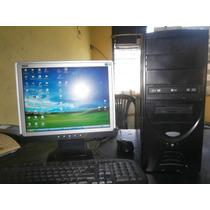 Computadora Completa Intel Pentium 4 De 2.80 Ghz Monitor Lcd