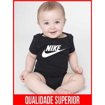 Body Bebe Personalizado Nike Menino Menina Manga Curta