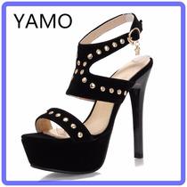 Sapato Salto Alto Feminino Moda Verão Frete Grátis