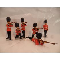 Soldados Guardias Reales X6 Palacio De Buckingham 3 Esc 1:32