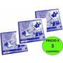 X 3 Cuadernos Para Musica Alpha Anillados 48 Pag