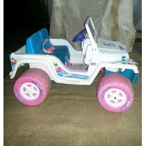 Jeep Power Wheel De Bateria Para Niñas