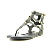 Mia Barbados Faux De Cuero De Gladiador Sandalias Zapatos