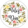 Stickers-etiquetas 70 Personalizados Día De La Madre