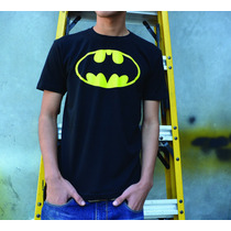 Playera Logo Batman Retro Dc Comics