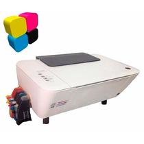 Impresora Hp Multifuncional Deskjet 1515 Con Tinta Continua