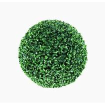 2 Buchinho Grande Artificial 23 Cm /bola Gramas Clobal Verde