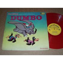 Dumbo Cuento Y Canciones Disney Color Lp Acetato