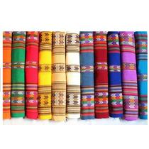 Aguayos De 2,15x1,10cm Variedad De Guardas Y Colores