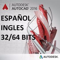 Autocad 2010 Al 2017 Español - Ingles 32 64 Bits Descarga!